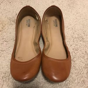 Brown Ballet Flats